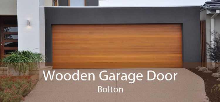 Wooden Garage Door Bolton